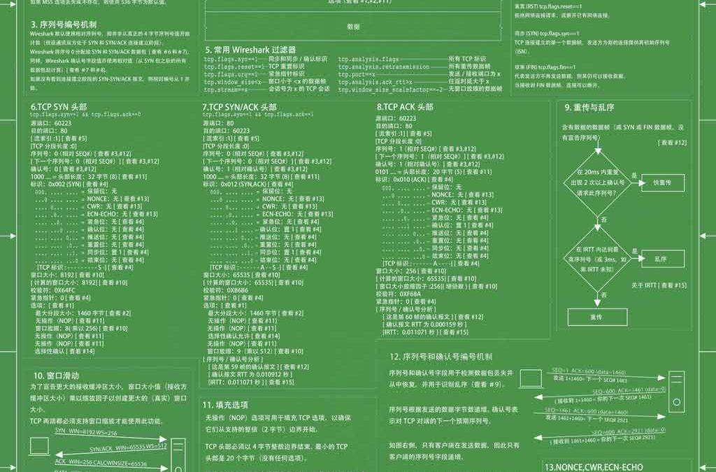 网深科技发布全球第一张中文版TCP协议分析图